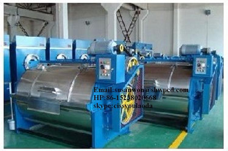 Factory price stainless steel wool or textile fabrics washing machine 0086-15238020668