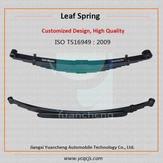 Semi-trailer Leaf Spring, Taper Leaf Spring, Parabolic Leaf Spring