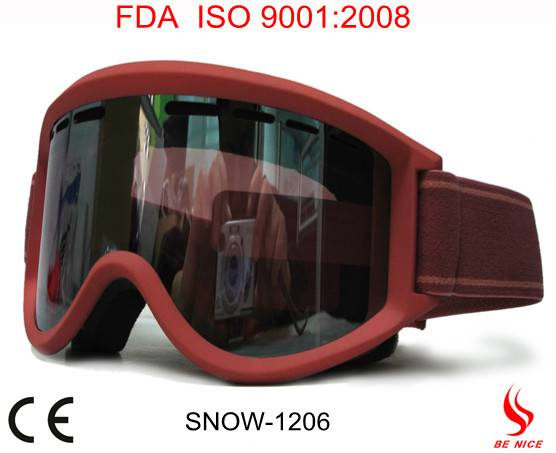 Most popular fashion custom snowboarding goggles from shenzhen