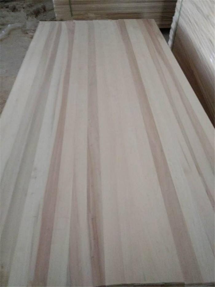 Poplar wood sawn timber edge glued poplar wood panel