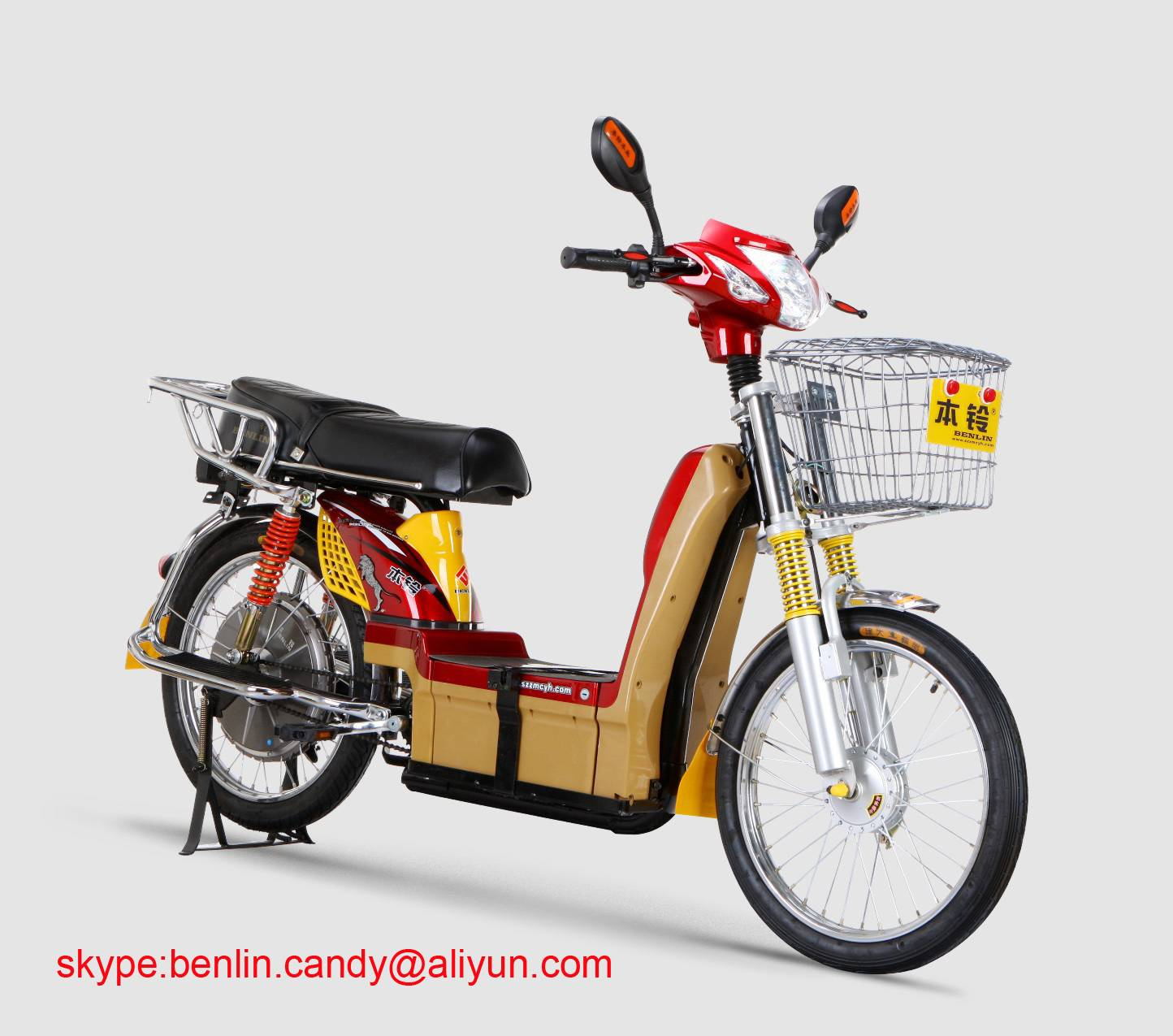 BL-QH 350W 48V12AH electric bicycle for carry goods SKD acceptable Brazil and Lebanon style
