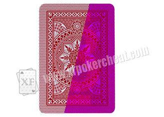 Italy Poker Modiano 4 Jumbo Plastic Marked Invisible Playing Cards For Magic Show