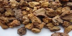 Dead-burned magnesite
