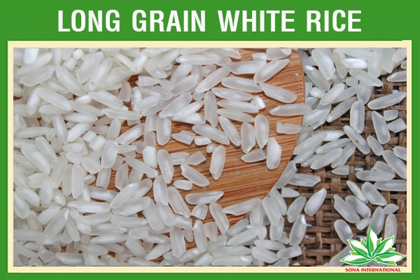 LONG WHITE RICE 5% BROKEN - CHEAP PRICE - SONA COMPANY - FROM VIETNAMESE