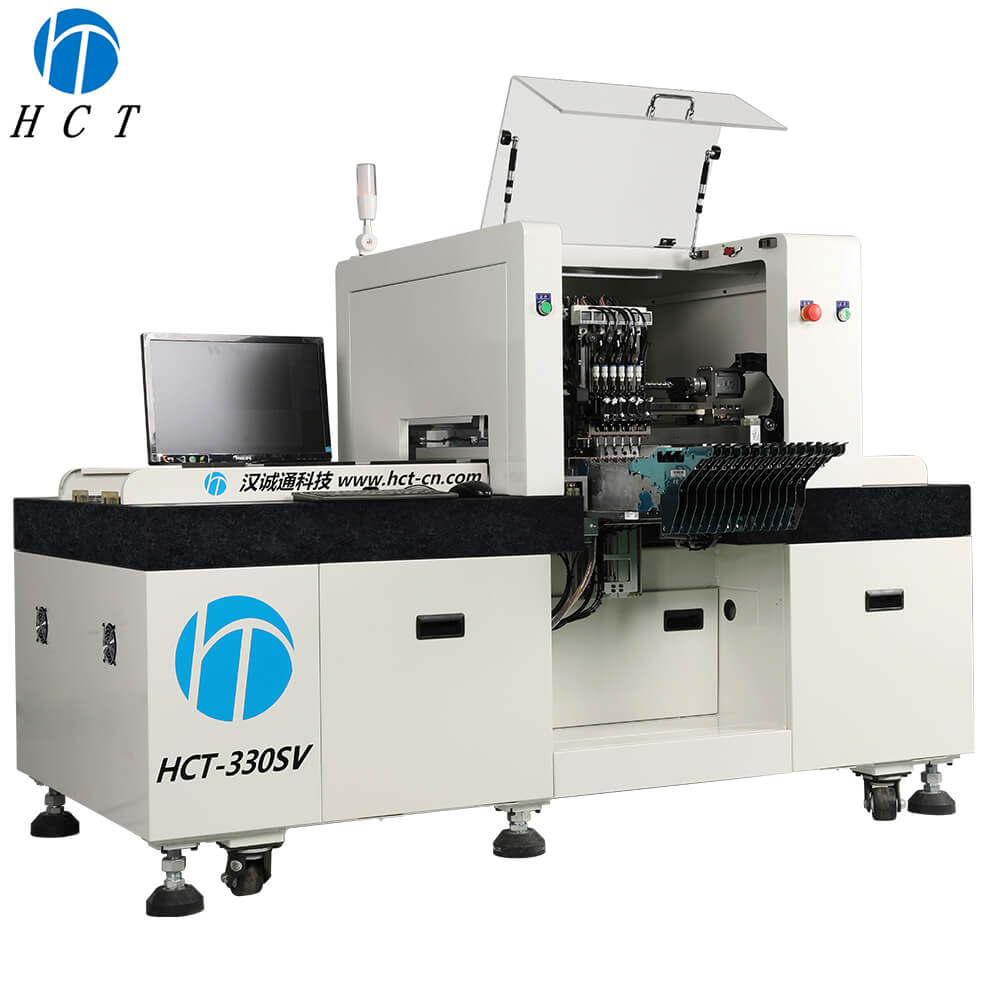 6 Heads LED Chip Mounter SMT Pick and Place Machine