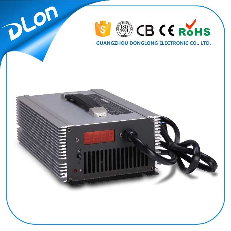 48V 30A battery charger for lead acid batteries / lifepo4 batteries / gel / agm batteries