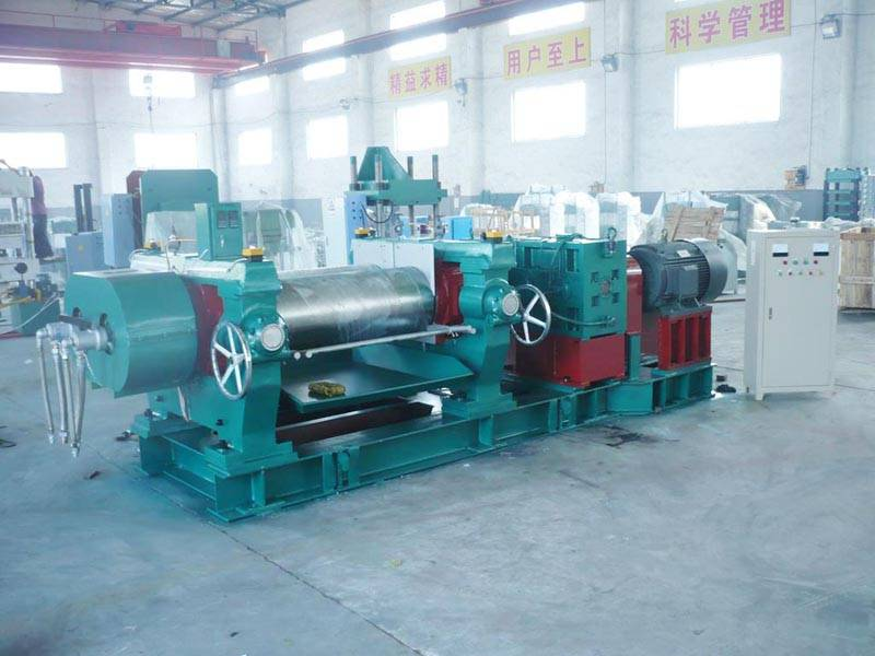 2 Roll Calender Machine