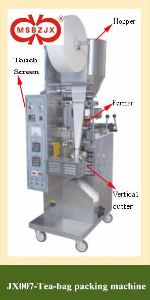 JX007-Automatic Tea-Bag Packaging Machine with Thread
