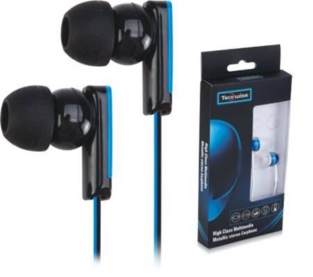 3.5mm stereo plug 10mm driver in-ear Plastic Earphone (H81025)