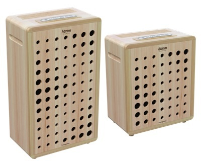 Hurim Air Purifier (The front is made with Hinoki Cypress tree)