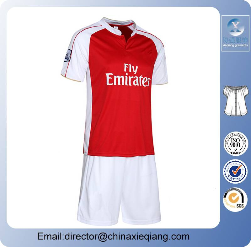New arrivals football team unifom jersery wear