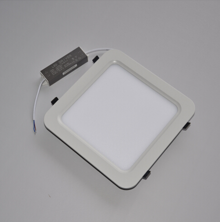 20W Rounded Square Anti-Glare Warm White LED Panel Light
