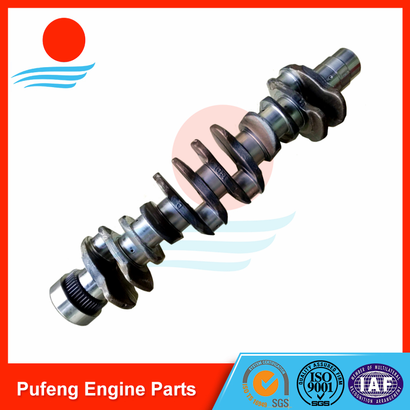 Volvo crankshaft D6E for excavator EC210B