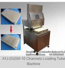 10 Channels Filling Tube Machine