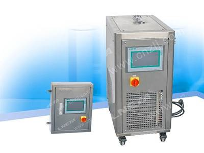 Refrigerator and heating unit apply to glass reactor temperature range from -30 up to 180 degree