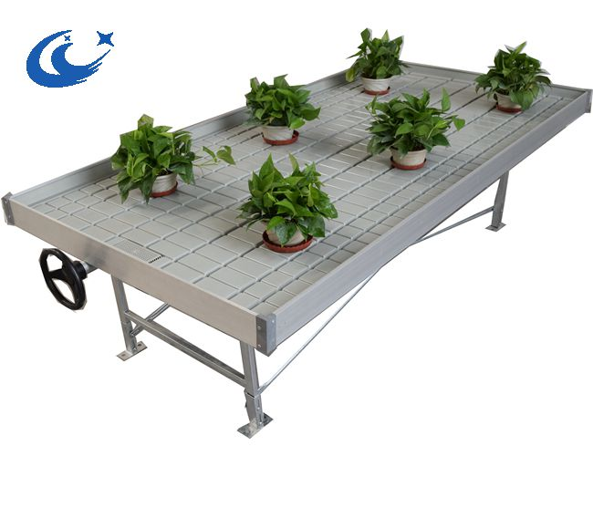 High Quality Ebb Rolling bench/table with flood plastic tray