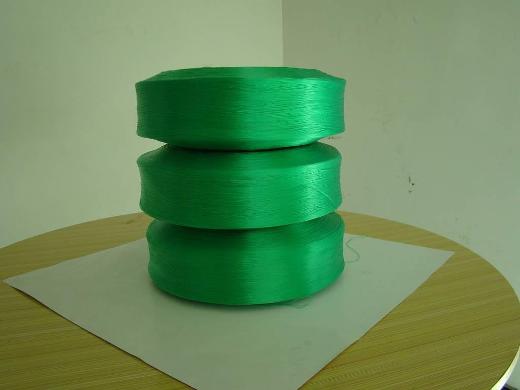 dope dyed pp yarn, polypropylene yarn FDY