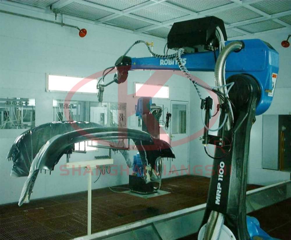 Shot Blasting Robot, Painting Robot