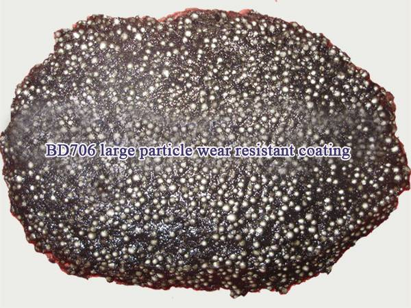 large particle abrasion resistant coatings