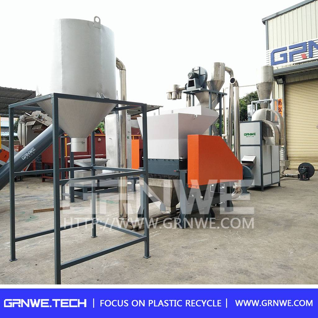 Excellent quality recycle plastic bottles machine