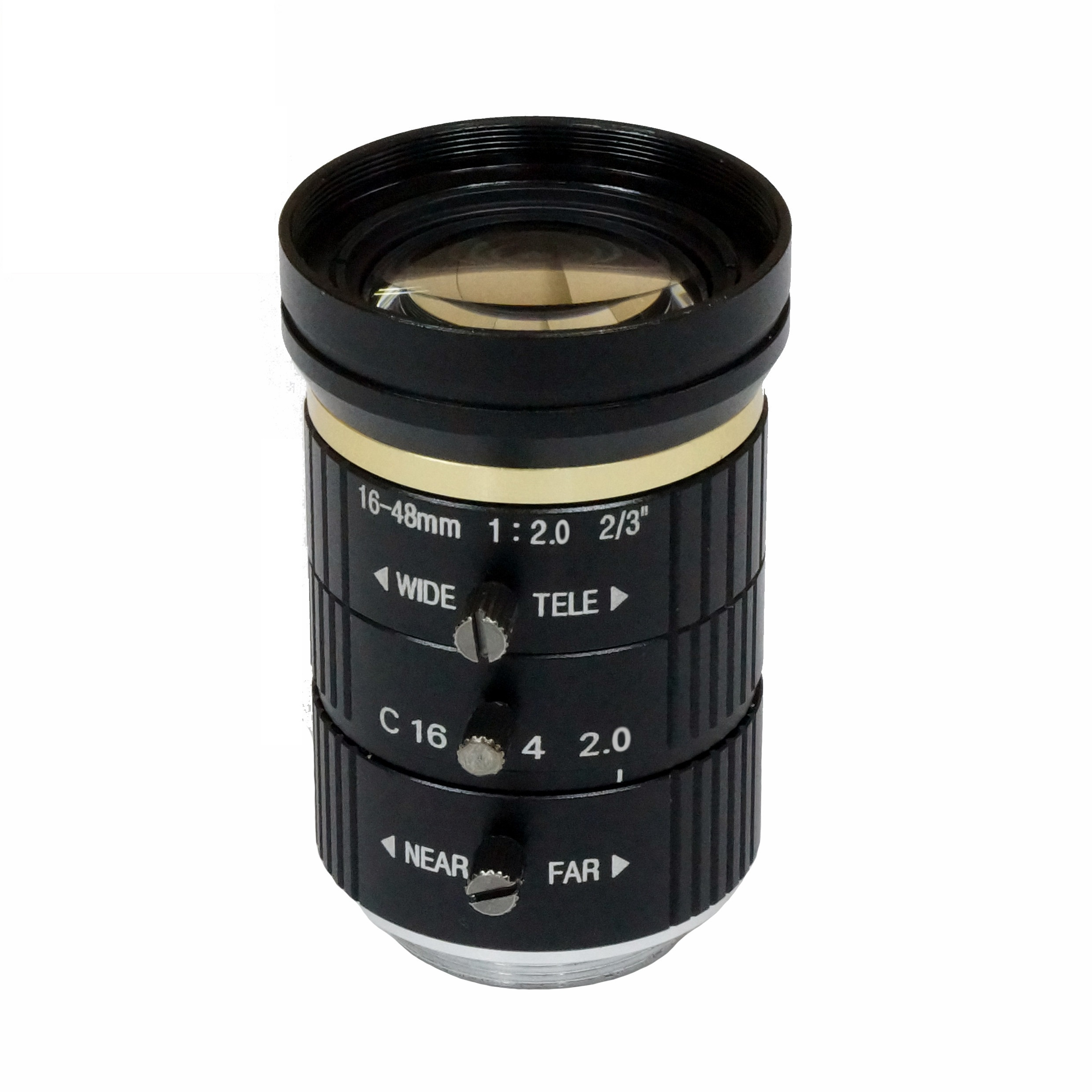 3.0 Megapixel lens machine vision 16-48mm 2/3""