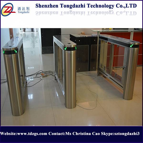 Building Turnstile Swing Barrier Gate with Bar code