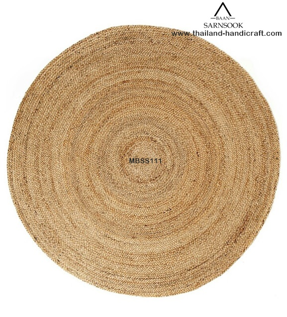 Water Hyacinth Handmade Decor Mats from Thailand