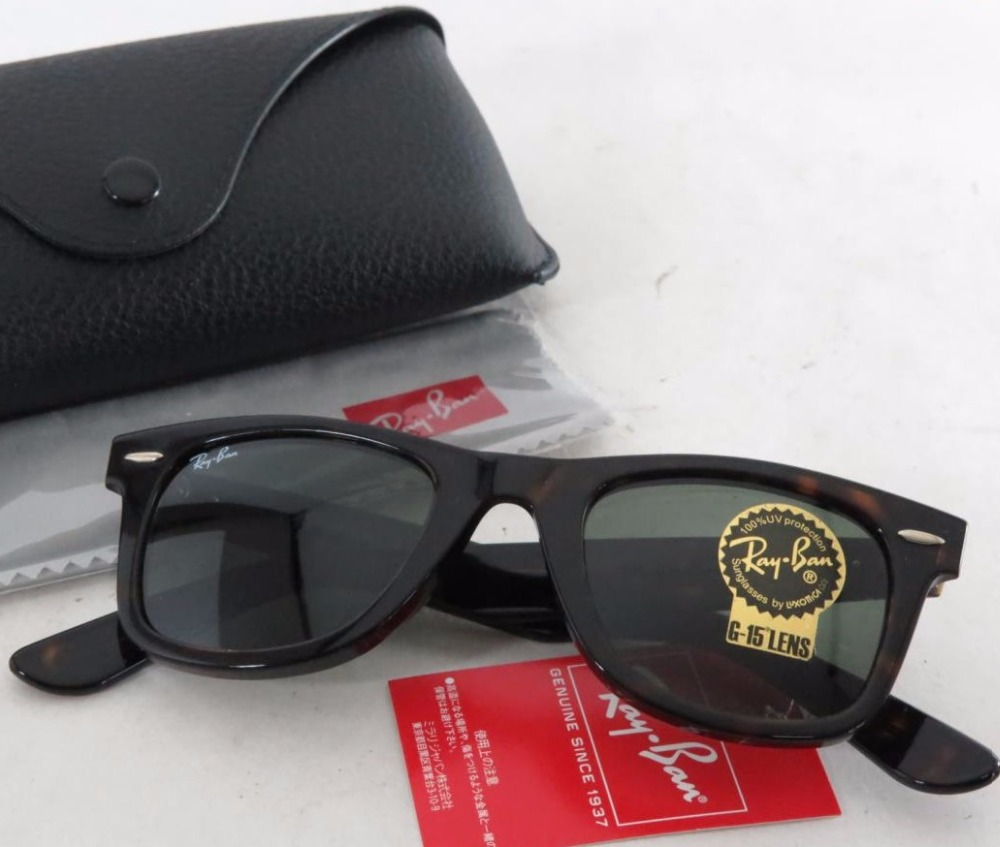 Used Ray-Ban Sunglass ORB2140 902 Black for bulk sale.