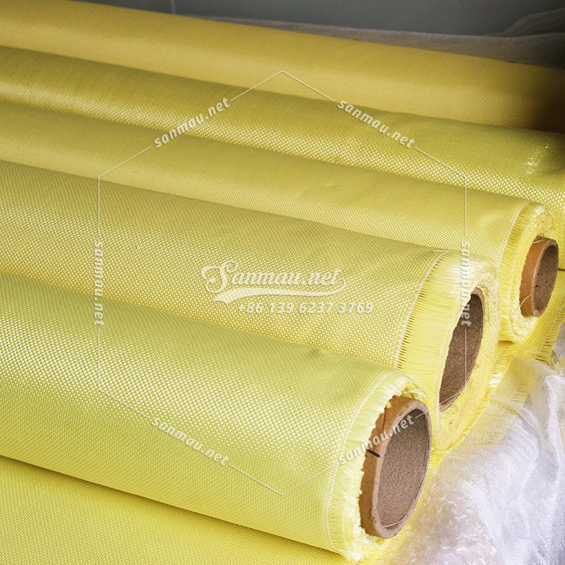 Kevlar Woven fabric, Ballistic/Bulletproof Material, FireRetardant, Source Manufacturer - Sanmau,