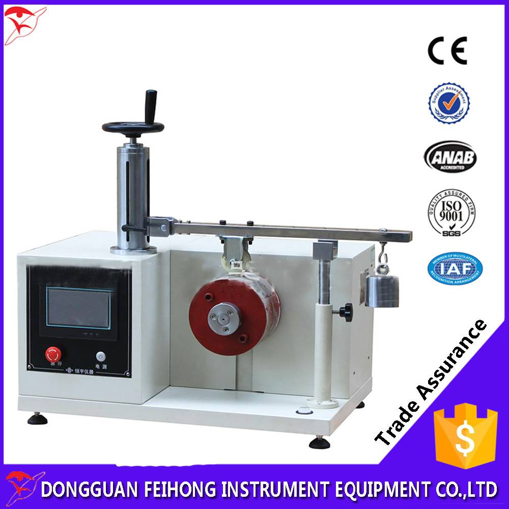 Luggage Wheel Wear Tester