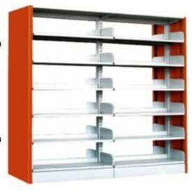 Modern book shelf for library