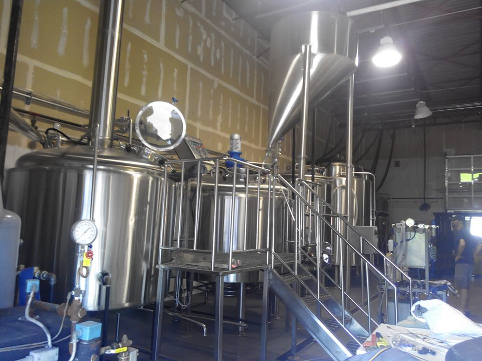200L micro beer brewing equipment, brew kettle, brewing tanks