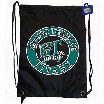 Satin Drawstring Bag,