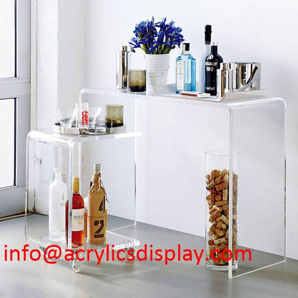 Popular acrylic furniture-table