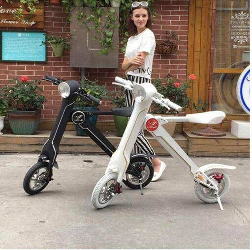 Best Transportation 2 Wheels Folding Electric Hoverboard Brushless Motor Portable Handrail Electric