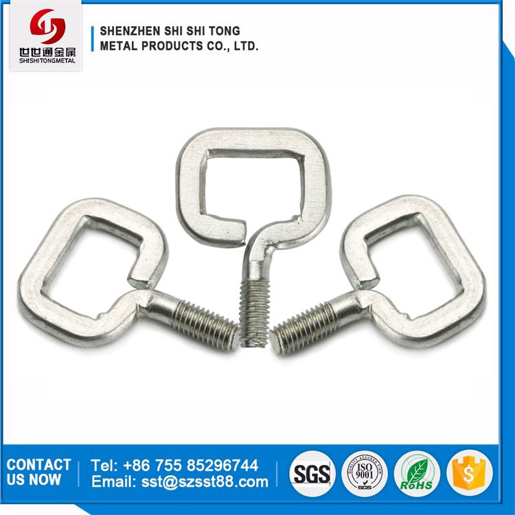 Good Price Environmental Nickel Plated Carbon Steel Eye Screw Machine Handle Bolts