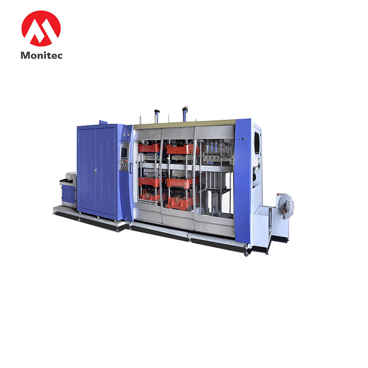 RMB-770550 Three Station Plastic thermoforming Machine