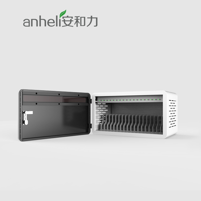 18 ports usb tablet charging cabinet