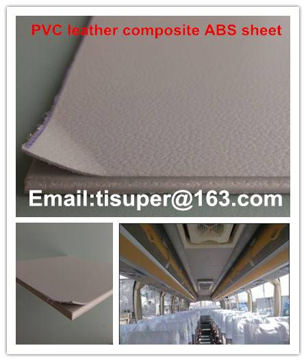 pvc leather composite ABS sheet