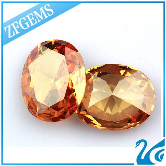 china wholesale oval cut synthetic diamond for jewelry making