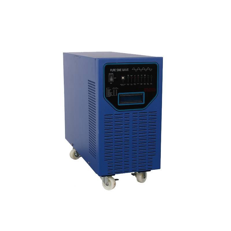 CE/RoSH/FCC/UL 6000W 24V 48V 220V Solar Battery Backup Pure Sine Wave Inverter with Builtin Charge