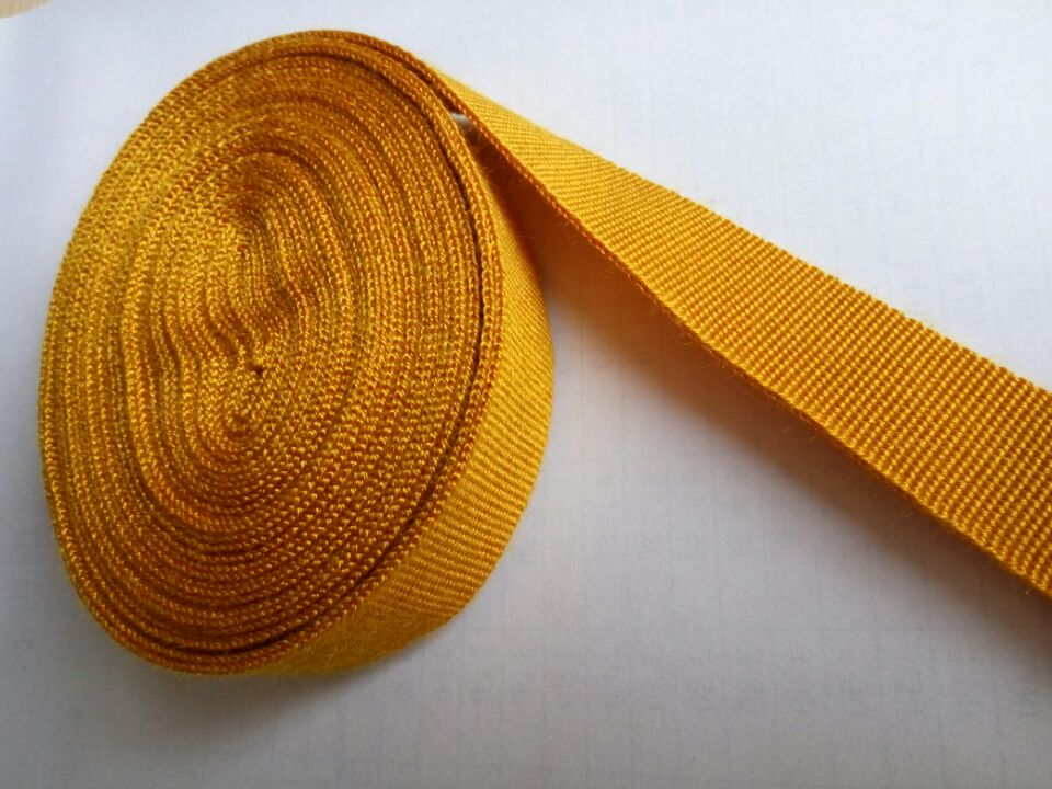 Polyimide webbing for fireman or aviation special equipment
