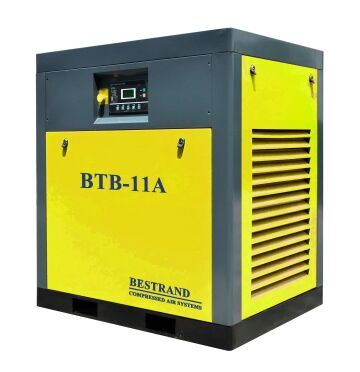 Belt type Oil-inject Screw Air Compressor