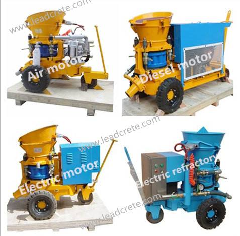 LZ-3 Shotcrete machine