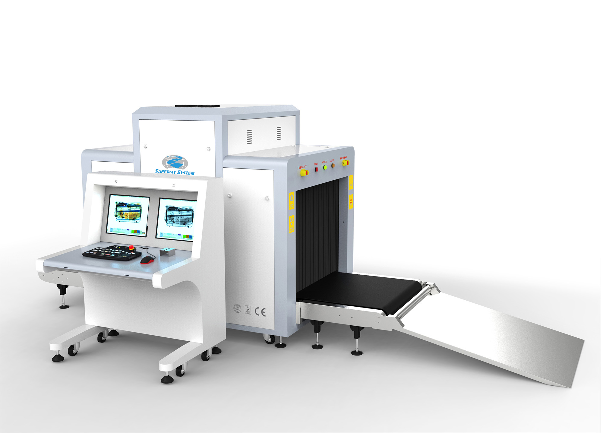 X-ray Machine X Ray Scanner for Finding Guns and Weapons