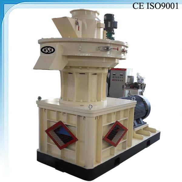 Pellet machine for wood