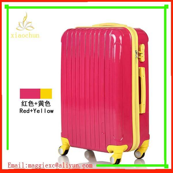 factory pc trolley luggage suitcase 3 pieces set