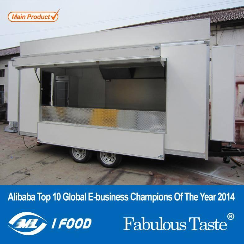 Fast Food Catering Food Van