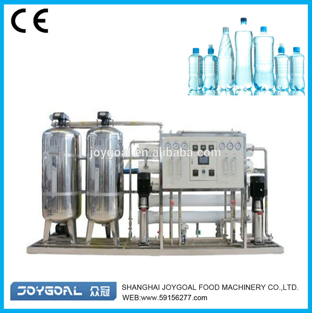 cup drink water production machine/pouch mineral water processing plant/water treatment equipment fo