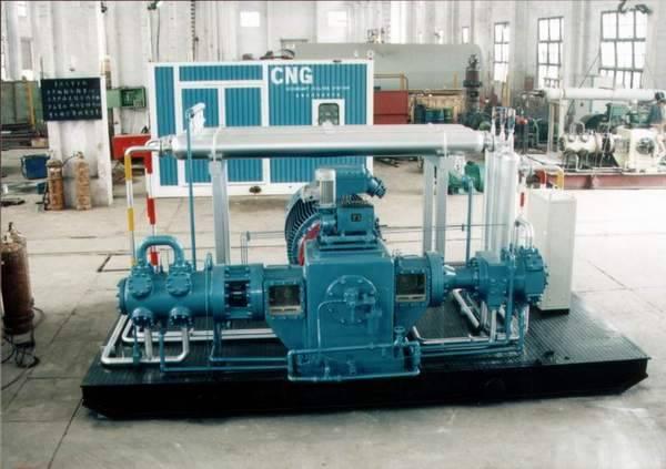 D type CNG compressor